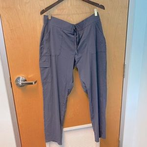 COLUMBIA pant with drawstring and tapered leg